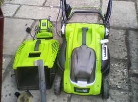 Aerotek Battery Mower
