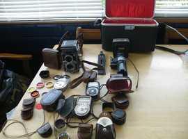 rolleiflex t 3.5 twin lens reflex camera