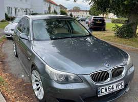BMW 5 Series, 2005 (54) Grey Saloon, Automatic Petrol, 121,667 miles