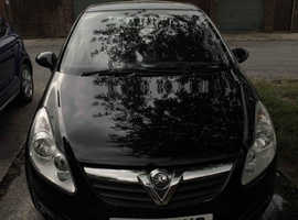 Vauxhall Corsa, 2008 (58) Black Hatchback, Manual Petrol, 91,000 miles