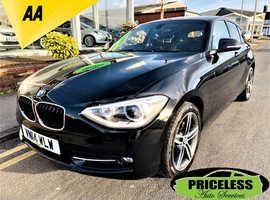 BMW 1 series, 2014 (14) Black Hatchback, Manual Diesel, 62,189 miles