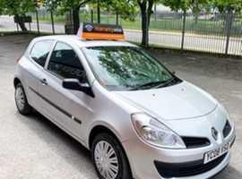 Renault Clio, 2008 (08), Manual Petrol, 65,000 miles