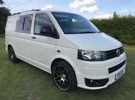 Vw transporter t5 t5.1 2011 2.0tdi 102bhp swb full Camper fsh Euro 4 engine cheap tax!!