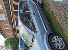 Ford Fusion, 2005 (54) Blue Hatchback, Manual Petrol, 102,790 miles