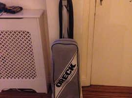 Oreck upright vacuum cleaner .