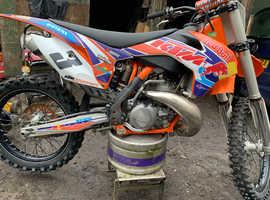 Ktm sx 250 swap farm quad