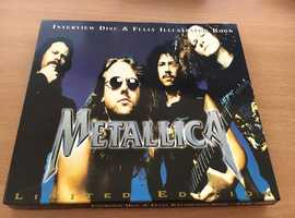 Metallica - Interview Disc and Fully Illustrated Book