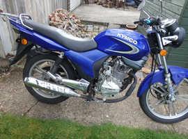 Spare parts or restoration project motor bike