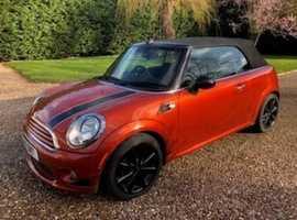 Mini MINI, 2011 (11) Orange Convertible, Manual Petrol,  LOW 44,450 miles Mot 2020