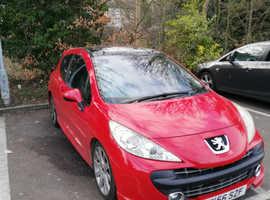 Peugeot 207, 2006 (56) Red Hatchback, Manual Diesel, 116,000 miles