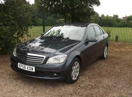 Mercedes C CLASS, 2008 (58) Grey Saloon, Manual Diesel, 108,671 miles