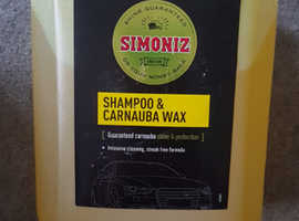 5ltr simoniz car shampoo