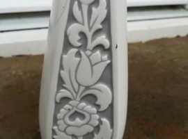Hornsey Potteries 1962 Floral Range Vase