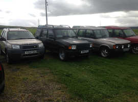 LANDROVERS CHOICE OF 5 FROM £495 CALL FOR ALL DETAILS.