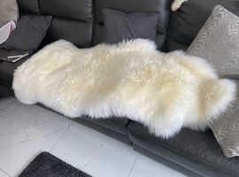 Sheepskin rug - wow factor