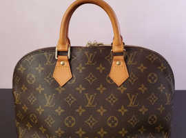 100% Authentic Louis Vuitton Alma PM Monogram Hand Bag