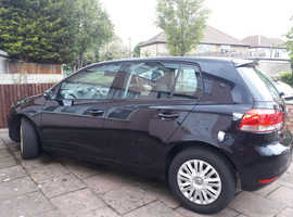 Left-Hand Drive, Black Volkswagen Golf for Sale