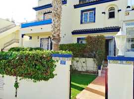 Villamartin, Costa Blanca, Very Nice Furnished Sofia Style Town House with Sunny Rooftop Solarium Communal Pool