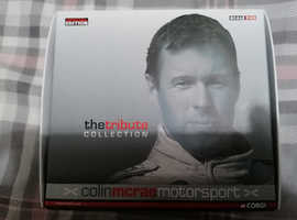Colin Mcrae Model Cars from the tribute collection