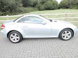 Mercedes SLK 280, 2005 (55) Silver Convertible, Automatic, Petrol,  72,500 miles