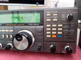 Yaesu frg 8800 radio receiver