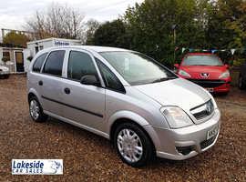 Vauxhall Meriva 1.3 Litre Diesel 5 Door MPV, Only 56k, New MOT No Advisories (Expires 3rd Dec 2020).