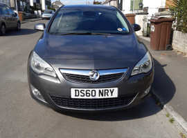 Vauxhall Astra, 2010 (60) Grey Hatchback, Manual Petrol, 65,000 miles