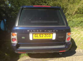 Land Rover Range Rover, 2003 (52) Blue Estate, Automatic Petrol, 140,047 miles