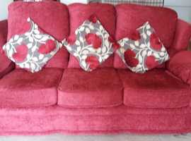 3 Seater Sofa and 1 Chair