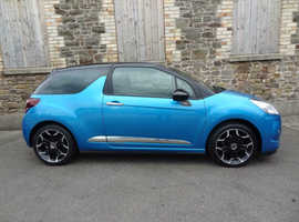 Citroen Ds3, 2013 (13) Blue Hatchback, Manual Diesel, zero road tax