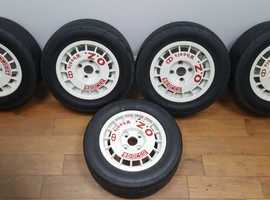 OZ Sparco rally race wheels. Peugeot, Citroen, Ford