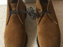 Church's Ryder 3 Suede Desert Boots (Men's, Brown, UK size 10): almost NEW - £225 (inc postage)