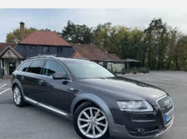 Audi A6, 2008 (58) Grey Estate, Automatic Diesel, 145,072 miles