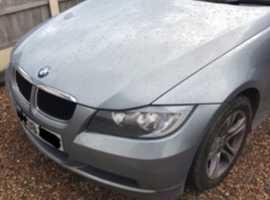 BMW 3 Series, 2008 (08) Green Estate, Manual Diesel, 110,675 miles
