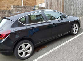 Vauxhall Astra, 2011 (61) Black Hatchback, Manual Petrol, 64,500 miles