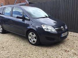 AUTOMATIC 08 Vauxhall Zafira DIESEL~7 Seats~Low Miles BARGAIN £2550!