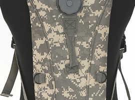 Army Military 3 Litre Aqua Bladder Camelbak Water Carrier Hydration Backpack ACU ARMY DIGITAL CAMO.