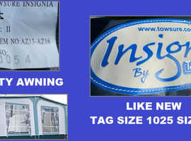 Caravan Awning Insignia Tag Size 1025 Size 15