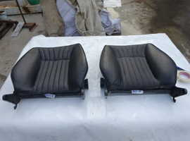Fiat Dino 2000 Coup front seats backrests