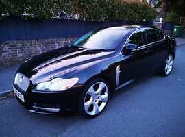 Jaguar Xf, 2010 (10) Black Saloon, Automatic Diesel, 74,345 miles