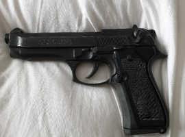 Bruni Mod 92 8mm Beretta blank firer handgun gun