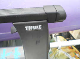 thule  lockable  roof bars