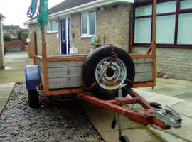 8ft x 4ft 6in trailer