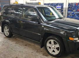 Jeep Patriot, 2009 (59) Black Hatchback, Manual Diesel, 115,000 miles