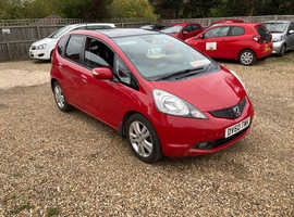 Honda Jazz, 2010 (60) Red Hatchback, Manual Petrol, 102,566 miles