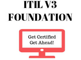 Become ITIL V3 Foundation Certified for £199 only!