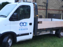 Vauxhall movano dropside truck. No VAT.