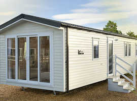 Brand new Willerby Malton at Cresswell Towers Holiday Park in Northumberland