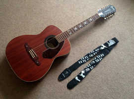 Fender Tim Armstrong Hellcat 12-string electro-acoustic guitar