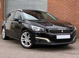 Peugeot 508 SW 2.0 Blue HDI 150 Tourer Fabulous Specification on this 508 SW Tourer....Up to 80MPG, and £20 Road Tax